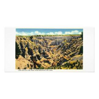 Visión desde el punto de la perspectiva, Badlands, Tarjetas Personales Con Fotos