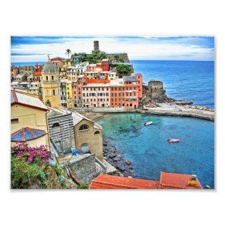 Visión desde el rastro Vernazza Italia Arte Fotografico
