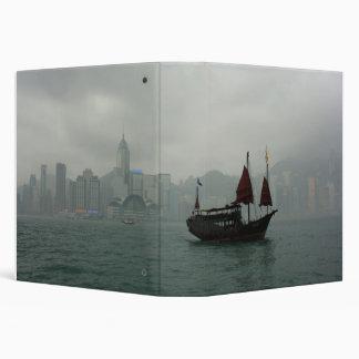 """Visión desde Kowloon hacia Chai pálido, Hong Kong Carpeta 1 1/2"""""""