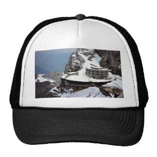 Visión desde la cumbre, Mt. Pilatus, Suiza Europa Gorros Bordados