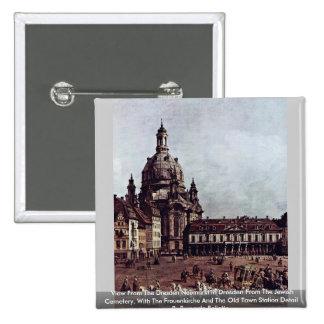 Visión desde la Dresden Neumarkt en Dresden Pin