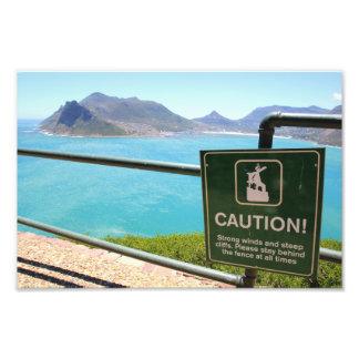 Visión desde la impulsión máxima Cape Town Impresion Fotografica