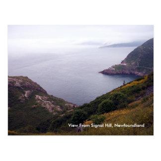 Visión desde la postal de la colina 1 de la señal