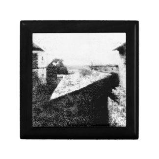 Visión desde la ventana en Le Gras Caja De Recuerdo