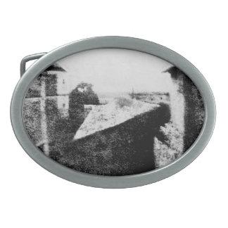 Visión desde la ventana en Le Gras Hebillas Cinturón