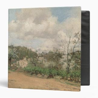 """Visión desde Louveciennes, 1869-70 Carpeta 1 1/2"""""""