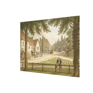 Visión desde mi propia cabaña en Essex (antes) de  Lona Estirada Galerias