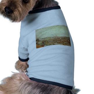 Visión desde Montmartre de Vincent van Gogh Camisetas De Mascota
