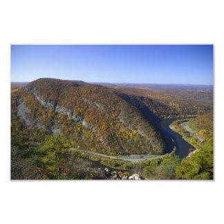 Visión desde Mt Tammany - NJ escénico Impresiones Fotográficas