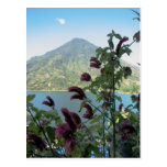 Visión desde Santiago Atitlan, Guatemala Postal