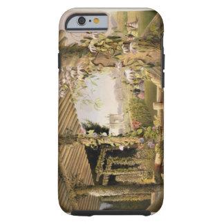 Visión desde Seat rústico, Shrublands, 'del G Funda Para iPhone 6 Tough