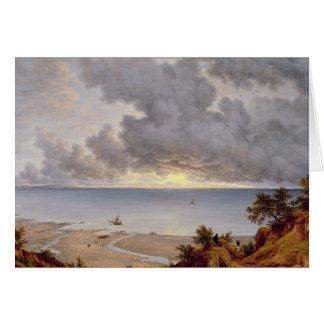Visión desde Shanklin, isla del Wight, c.1827 (ace Tarjeta