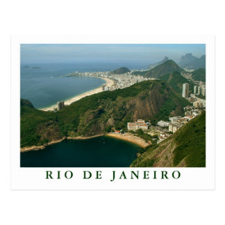"""""""Visión desde Sugarloaf, postal de Río de Janeiro"""""""