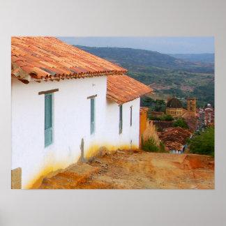 Visión desde un poster de la colina