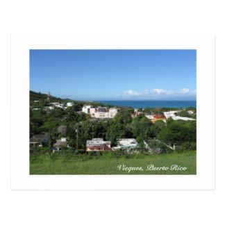 Visión desde Vieques Tarjeta Postal