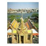 Visión desde Wat Arun sobre el río Chao Phraya, Ba Postales