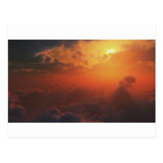Visión dramática desde el cielo postales