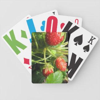 Vision empeoró naipes cartas de juego