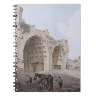 Visión en el foro romano (el templo de la paz) 177 libretas