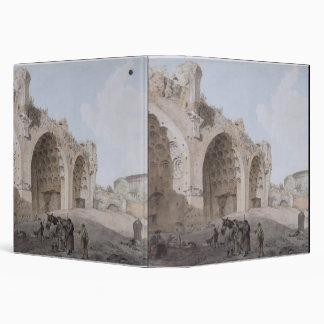 """Visión en el foro romano (el templo de la paz) carpeta 1 1/2"""""""