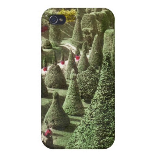 Visión en Grounds de Sr. Hunnewell, Wellesley, mas iPhone 4 Funda