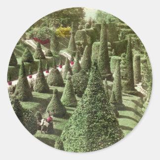 Visión en Grounds de Sr Hunnewell Wellesley mas Etiqueta