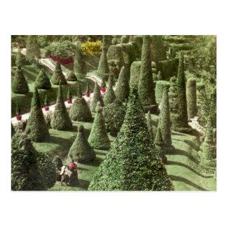 Visión en Grounds de Sr Hunnewell Wellesley mas Tarjetas Postales