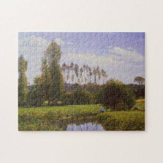 Visión en la bella arte de Rouelles Le Havre Monet Rompecabezas