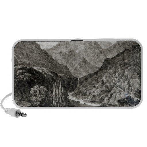 Visión en la Cordillera Laptop Altavoz