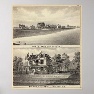 Visión en Reids Villa Park y residencia Póster