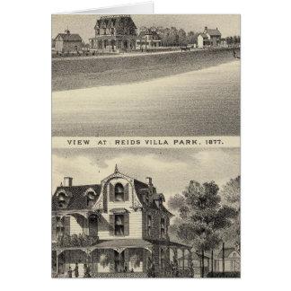 Visión en Reids Villa Park y residencia Tarjeta De Felicitación