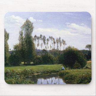 Visión en Rouelles Le Havre - Claude Monet Tapete De Ratones