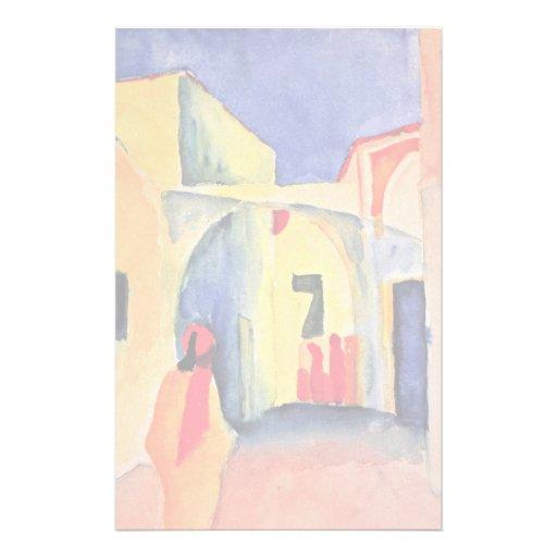 Visión en un callejón, por Macke agosto Papeleria De Diseño