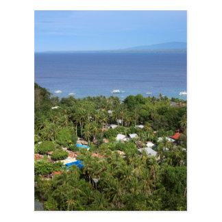 Visión escénica sobre la isla del Apo Postal