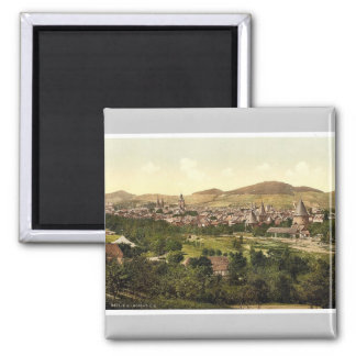 Visión general, Goslar, Hartz, foto de la obra clá Imán Cuadrado