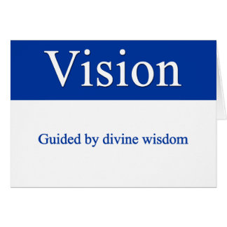 Vision - Guided by divine wisdom Card