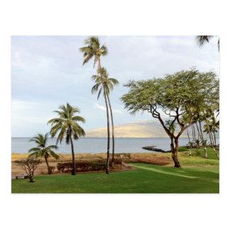 Visión hacia la bahía de Maalaea de Kihei, Maui Tarjetas Postales