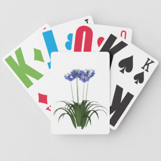 Vision Impaired Agapanthus Playing Cards