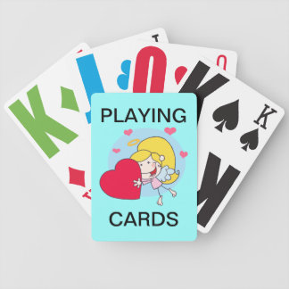 Vision Impaired Angel motif Playing Cards