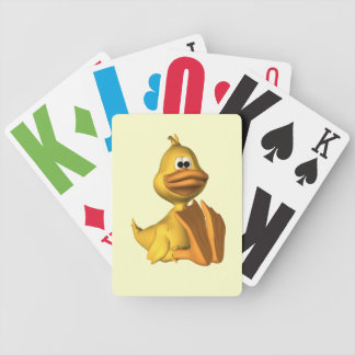 Vision Impaired Duck Playing Cards