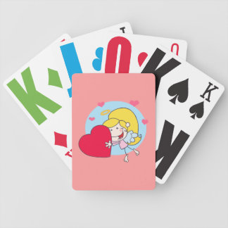Vision Impaired girl motif Bicycle Playing Cards
