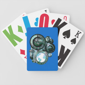Vision Impaired Time Piece Playing Cards