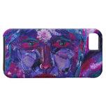 Vision interno magenta y violeta de la vista - iPhone 5 carcasas