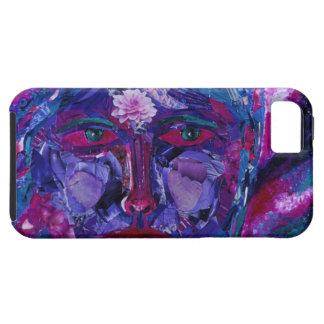 Vision interno magenta y violeta de la vista - funda para iPhone 5 tough