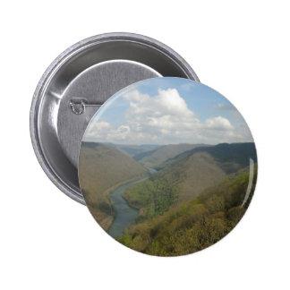 Visión magnífica adaptable pin redondo de 2 pulgadas