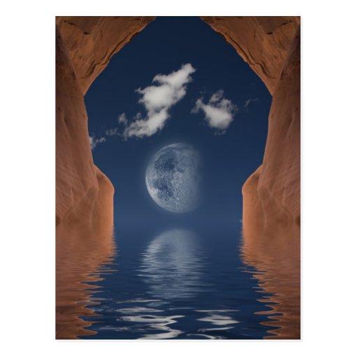 Vision Meditate Postcard