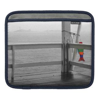 Visión oceánica de niebla manga de iPad