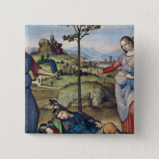 Vision of a Knight, c.1504 Button