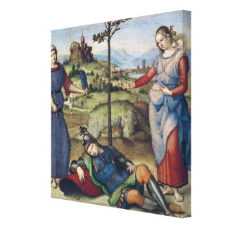 Vision of a Knight, c.1504 Canvas Print