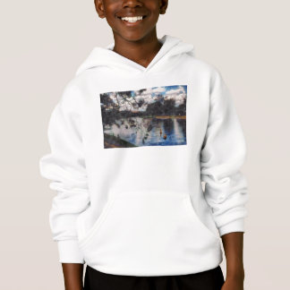 Vision of a river hoodie